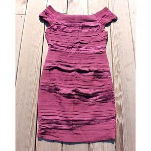 Alice & Olivia Purple Bodycon Dress